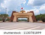 lao bao  vietnam   may 9  2018  ... | Shutterstock . vector #1130781899
