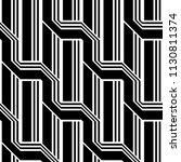 design seamless monochrome... | Shutterstock .eps vector #1130811374