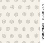 vector seamless pattern.... | Shutterstock .eps vector #1130812271