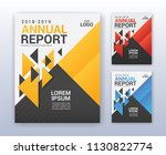 modern business annual report... | Shutterstock .eps vector #1130822774