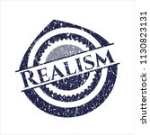 blue realism grunge seal | Shutterstock .eps vector #1130823131