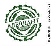 green aberrant grunge seal   Shutterstock .eps vector #1130823431