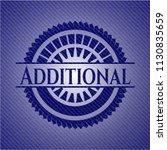 additional emblem with denim... | Shutterstock .eps vector #1130835659