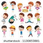 vector illustration of cartoon... | Shutterstock .eps vector #1130853881