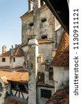 bran  transylvania region  ... | Shutterstock . vector #1130911121