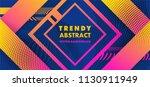 hipster modern geometric...   Shutterstock .eps vector #1130911949