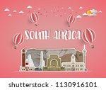 south africa landmark global...   Shutterstock .eps vector #1130916101