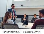 shot of coworkers having a...   Shutterstock . vector #1130916944