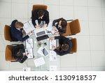 successful business team...   Shutterstock . vector #1130918537