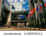 brussels  belgium   may 20 ... | Shutterstock . vector #1130929211