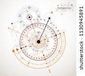engineering technology vector... | Shutterstock .eps vector #1130945891