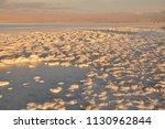 salar de atacama  in the... | Shutterstock . vector #1130962844