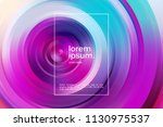 virtual reality concept. 3d... | Shutterstock .eps vector #1130975537