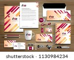 corporate identity business ...   Shutterstock .eps vector #1130984234