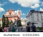 ljubljana   slovenia   july 5th ... | Shutterstock . vector #1131013361