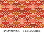 traditionally auspicious... | Shutterstock .eps vector #1131020081