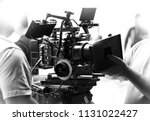 movie shooting or video filming ... | Shutterstock . vector #1131022427