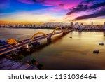 Dragon Bridge At Sunset.
