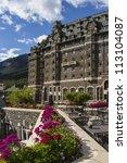 Banff Springs Hotel In Banff...
