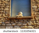gordes  provence   france   may ... | Shutterstock . vector #1131056321