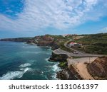 aerial view of a cliff in the... | Shutterstock . vector #1131061397