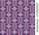 Geometric African Print. Cloth...