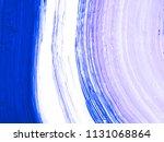 blue creative abstract hand...   Shutterstock . vector #1131068864