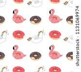 vector illustration  seamless...   Shutterstock .eps vector #1131069974