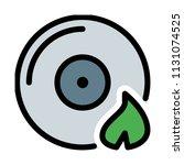 burn compact disk | Shutterstock .eps vector #1131074525