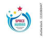 space human character   concept ... | Shutterstock .eps vector #1131083447