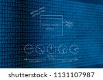 business timing conceptual... | Shutterstock . vector #1131107987