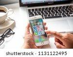 lamphun  thailand   july 8th ... | Shutterstock . vector #1131122495