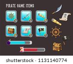 game interface for pirate...