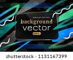 new modern abstract design...   Shutterstock .eps vector #1131167399