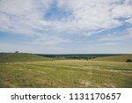 beautiful russian landscape....   Shutterstock . vector #1131170657