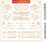 vector boho  ethnic style...   Shutterstock .eps vector #1131234839