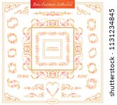 vector boho  ethnic style...   Shutterstock .eps vector #1131234845