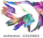 bird of mind series. abstract...   Shutterstock . vector #1131246821