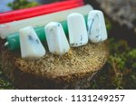 dendritic agate  premium... | Shutterstock . vector #1131249257