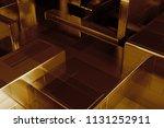 3d render abstract background.... | Shutterstock . vector #1131252911