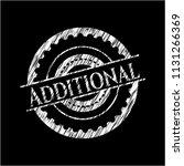 additional chalk emblem written ... | Shutterstock .eps vector #1131266369