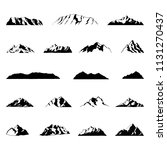 mountain illustrations... | Shutterstock .eps vector #1131270437