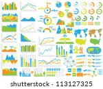 new style web elements... | Shutterstock .eps vector #113127325