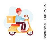 vector modern creative flat... | Shutterstock .eps vector #1131297827