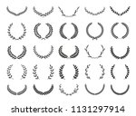 collection of different black... | Shutterstock .eps vector #1131297914
