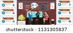 near field communication... | Shutterstock .eps vector #1131305837