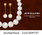 fashion jewellery concept...   Shutterstock .eps vector #1131309737