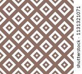 flat geometric brown seamless... | Shutterstock .eps vector #1131321071