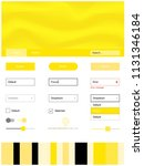 light yellow vector wireframe...