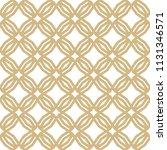 golden abstract geometric... | Shutterstock . vector #1131346571
